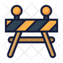 Barrier construction Icon