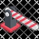 Barrier Gate Boom Barrier Boom Gate Icon