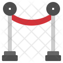 Barrier Rope Red Icon