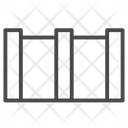 Barrier Wall Fence Barrier Icon