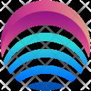 Bars Logogram Shape Icon