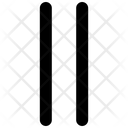 Bars Lines Parallel Icon