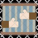 Bars Law Justice Icon