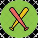 Baseball Bat Sports Icon