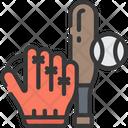 Baseball Sports Pastime Icon