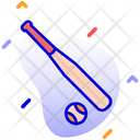 Baseball Baseball Bat Bat Icon
