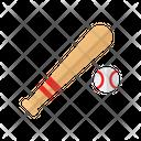 Baseball Ball Game Icon