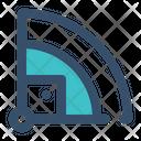Baseball Field Sport Icon