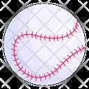 Hard Ball Baseball Sports Ball Icon