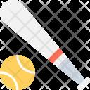 Baseball Bat Equipment Icon