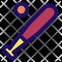 Baseball Sport Bat Icon