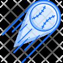 Baseball Ball Speed Icon