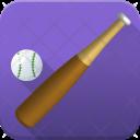 Baseball Bat And Icon