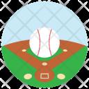Baseball Ball Field Icon
