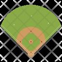 Baseball Court Ground Icon