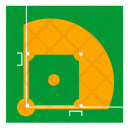 Baseball Field Grass Icon