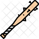 Baseball Bat Nail Icon