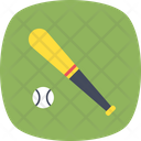Bat Baseball Game Icon