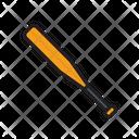 Baseball Bat Cricket Icon