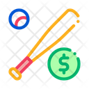 Ball Baseball Bat Icon