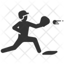 Baseball Catch Catcher Icon