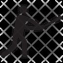 Baseball Player Baseball Game Sportsman Icon