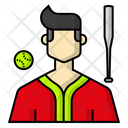 Avatar Baseball Sports Icon