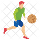 Baseball Player Football Player Olympic Game Icon