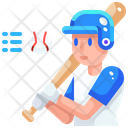 Baseball Player Icon
