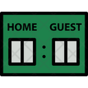 Baseball Scoreboard Icon