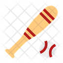 Baseball Stick Icon