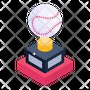 Baseball Trophy Award Winning Cup Icon