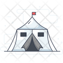 Basecamp Army Camp Military Camp Icon