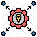 Based Location Factory Icon