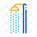Beach Shower Water Icon