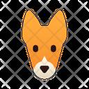 Basenji Dog Puppy Icon