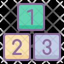 Basic Math Blocks Icon