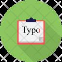 Basic Typography Tools Icon