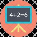 Basic Maths Calculation Icon