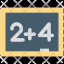 Basic Maths Education Icon