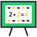 Basic Maths Calculation Icon