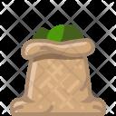 Basil Herbs Sack Icon