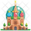 Basil cathedral Icon