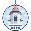 Basilica Church Icon