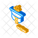 Pipe Repair Isometric Icon