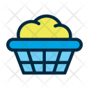 Basket Laundry Wash Icon