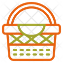 Basket Fruit Autumn Icon