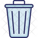 Basket Bucket Dustbin Icon