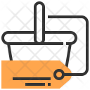 Basket Tag Commerce Icon