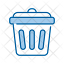Basket Garbage Trash Icon